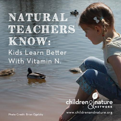 Are you a teacher who wants to bring more #nature to class? @RichLouv shares ten tips http://t.co/JkRIWAkGfX http://t.co/FgvbDlGCJk