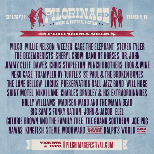 Sheryl's playing @PilgrimageFest! RT if you'll #MakeThePilgrimage #FranklinTN in September! http://t.co/ONbGq9vG8u TS http://t.co/l5UbUUl9GI