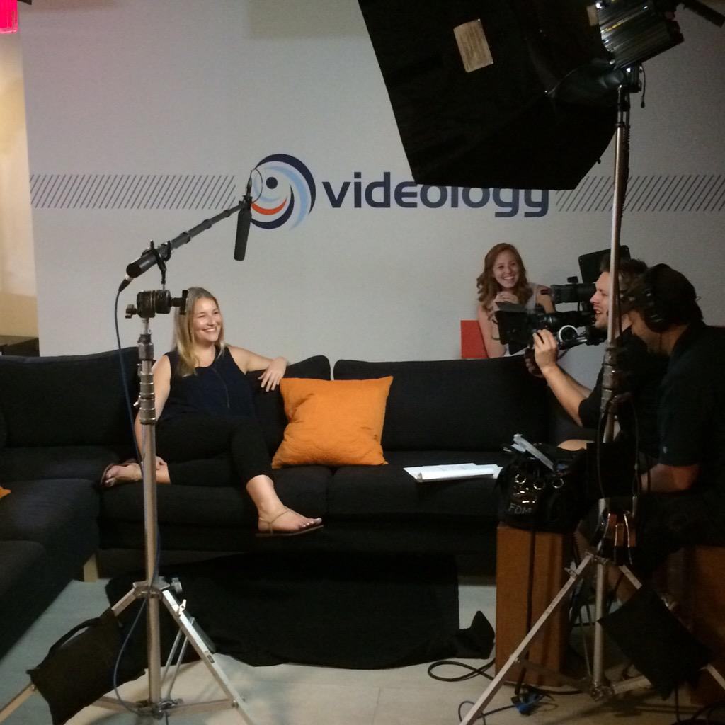 Quiet on the set! Filming some promotional videos today in NY to capture our #companyculture. http://t.co/pRnuBb0TP6