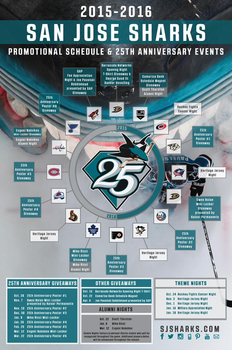 "san jose sharks on twitter: ""promos, theme nights, heritage jersey"