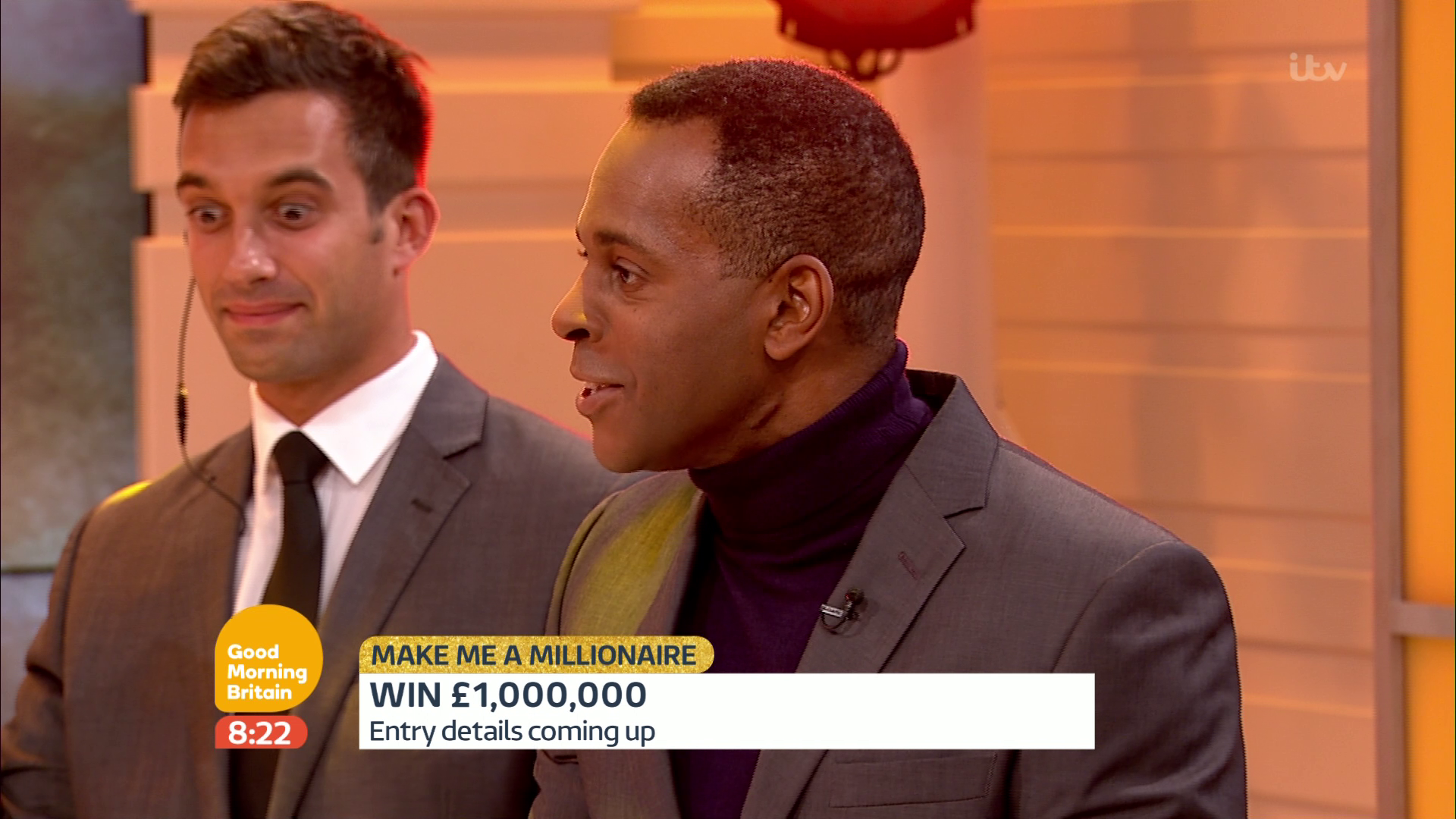 RT @TV_Archive: When @andipeters says he wouldn't take the cash home @GMB Security guard isn't convinced @benshephard @susannareid100 http:…