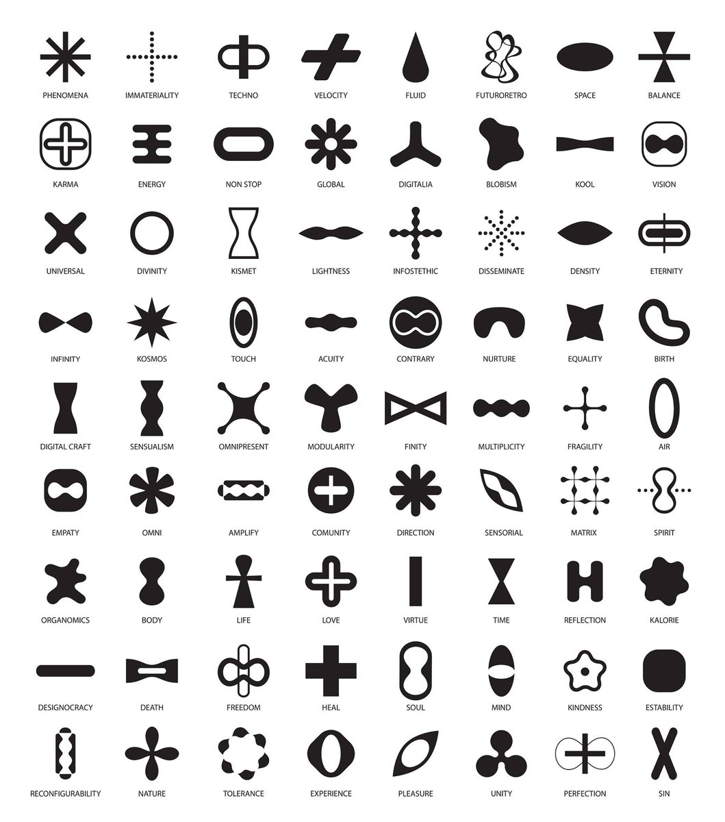 Karim Rashid On Twitter My Symbols Of Life Httptw8wm008tvk