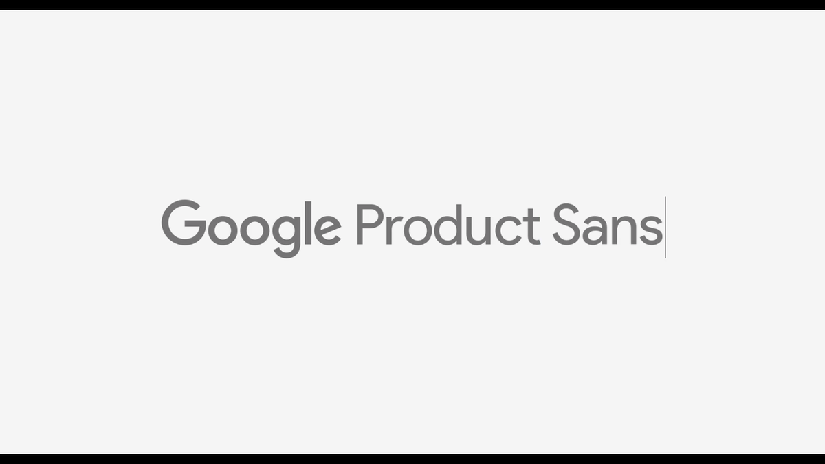 … See more of Product Sans & rationale behind the logo on Google's design site: https://t.co/giw3GJI82g (thx @w__h_) http://t.co/bV4gJ2n7Bs