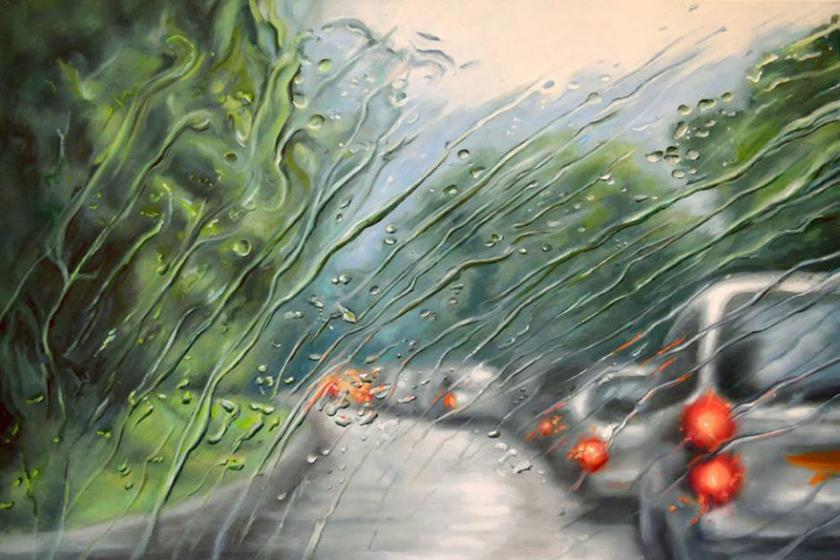 RT @Creative_Boom: Rainscapes: Beautiful rainy windshield paintings on canvas  http://t.co/jZKW0oyeWR http://t.co/bzNE3sFQL3
