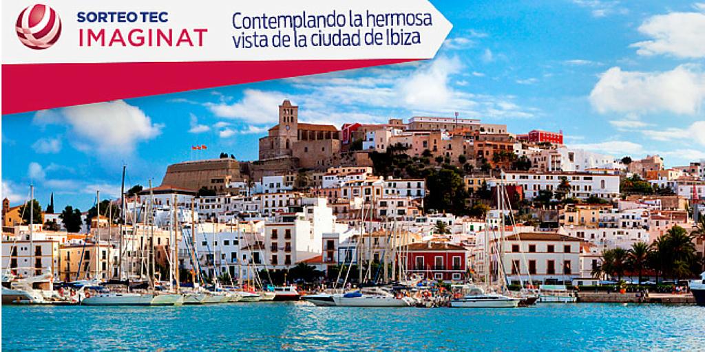¡Playa, aventura y fiesta es lo que te espera en Ibiza! una de las siete opciones del 1er premio del Sorteo #ImaginaT http://t.co/7QOzPnj2lt