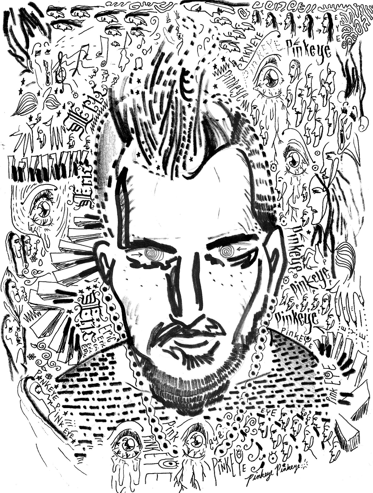 Alan ishii on twitter more wacky doodles eyeballs for Doodle art faces