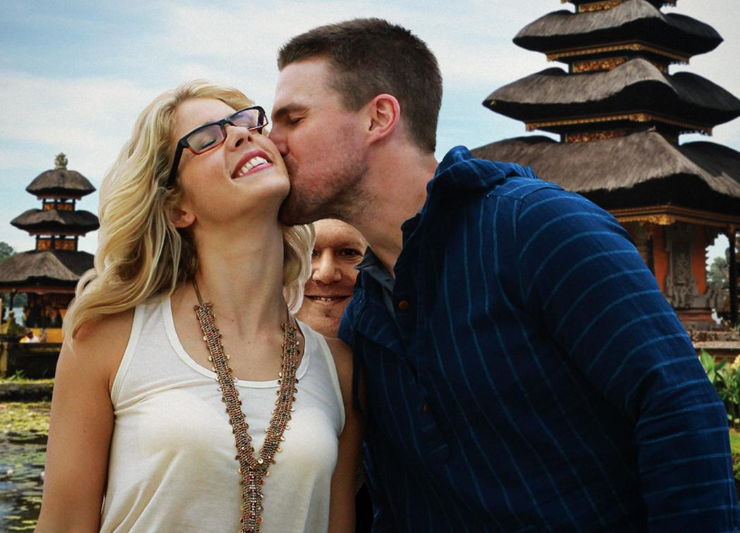 So I asked the Arrow Art Department for copies of Oliver and Felicity vacation photos and got these... http://t.co/4SQoMrHWXp