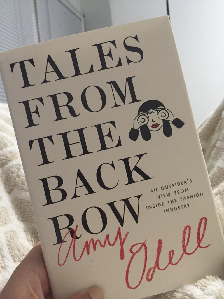 RT @kaitaroni: Just started reading @amyodell's #TalesFromTheBackRow & am already obsessed. Pick up your copy today! @Cosmopolitan http://t…