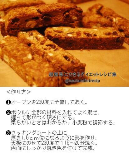 test ツイッターメディア - ★おからdeソイジョイ風★ <材料>・生おから 60~70g・好きなドライフルーツ 30g・好きなナッツ類 20g・卵 1個・薄力粉 小さじ2~・バター(有塩)常温にしておく 4g(小さじ1)・砂糖 小さじ2 https://t.co/PKXLg1KEna