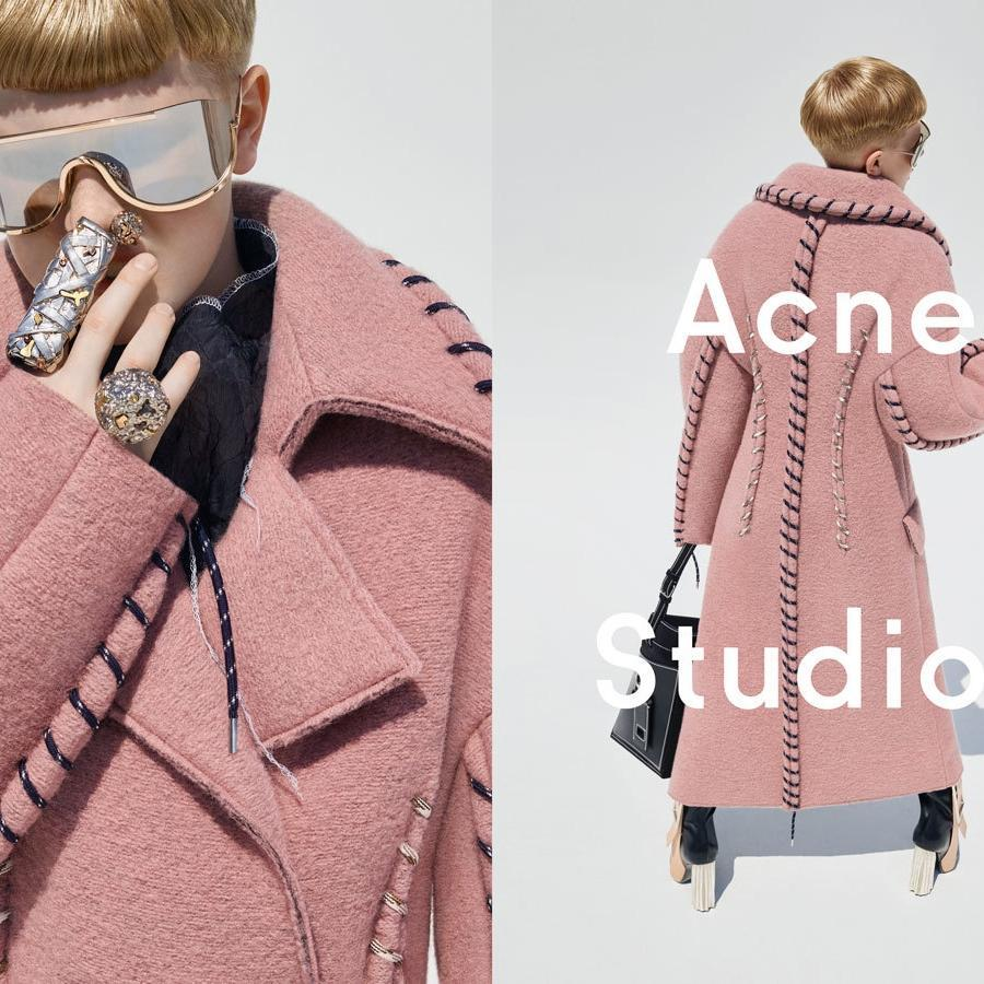 ICYMI: @acnestudios owner's 11-year-old son rocks heels and handbag in new campaign: http://t.co/D2t0wRQILR http://t.co/p4rtY6ZwhC