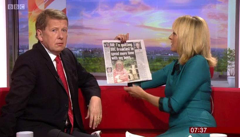I'll miss that look. @billtu to leave @BBCBreakfast at the end of January 2016 http://t.co/tDxvFlSrjV http://t.co/NjyBADVTS9