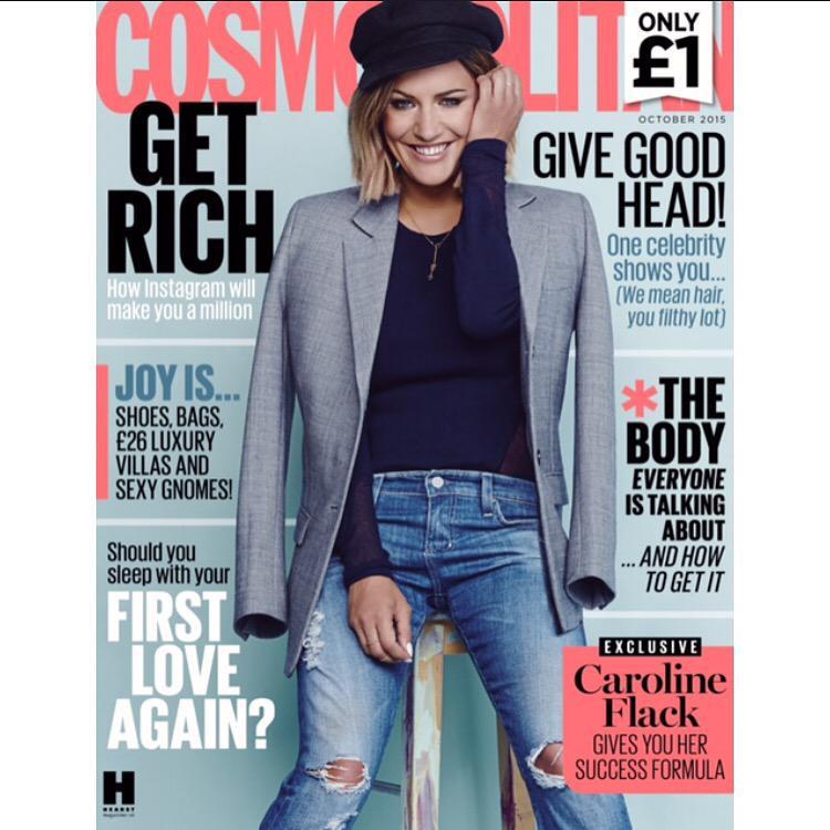 Gorgeous @carolineflack1 for @CosmopolitanUK - out TODAY! http://t.co/S173EAvuZD