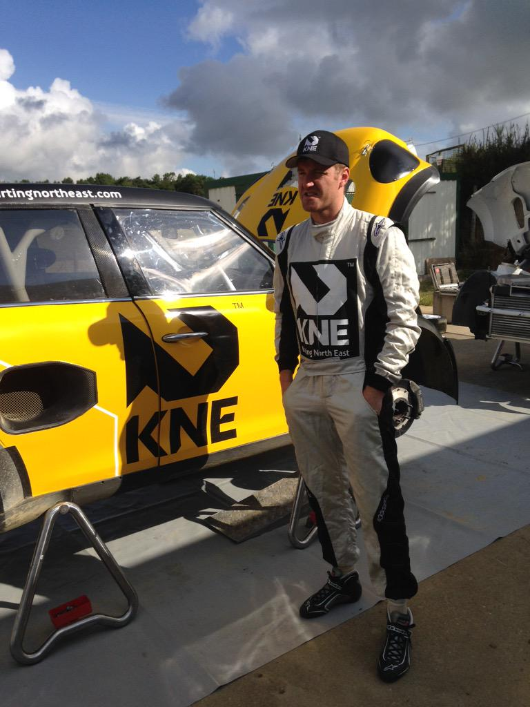 Back in the game! @KNE_Official @FIAWorldRX  Testing testing... http://t.co/zS8sFSn6FS