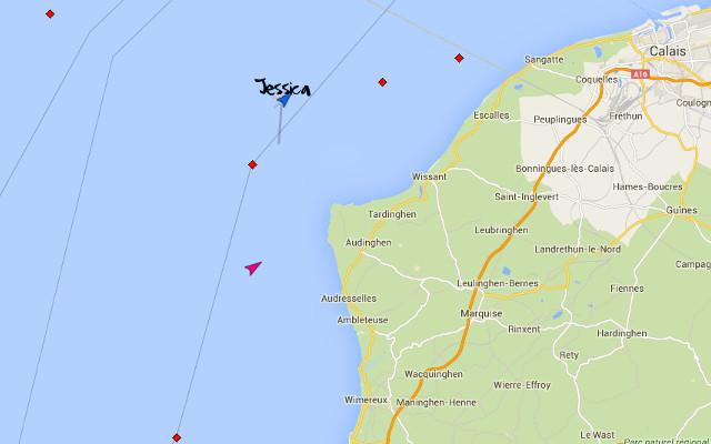 Following @JessicaPursuit incredible swim across the Channel. She's nearly there! Sponsor: https://t.co/pwvFRlFM9m http://t.co/ndwqDT89ut