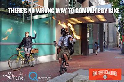 Day two! Commute yo'self! #bikemore @BTAOregon #everydaycycling @TheUnipiper http://t.co/6QblXD0wEn