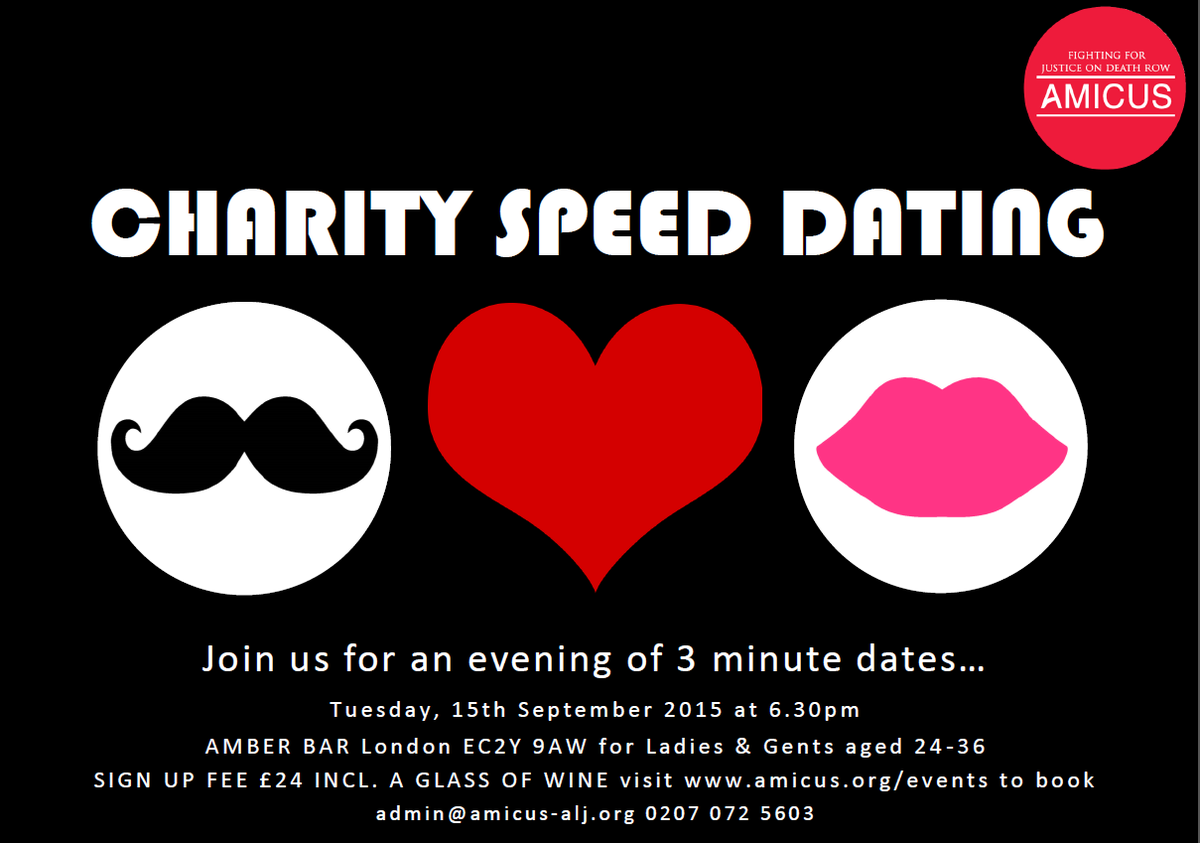 charity speed dating london