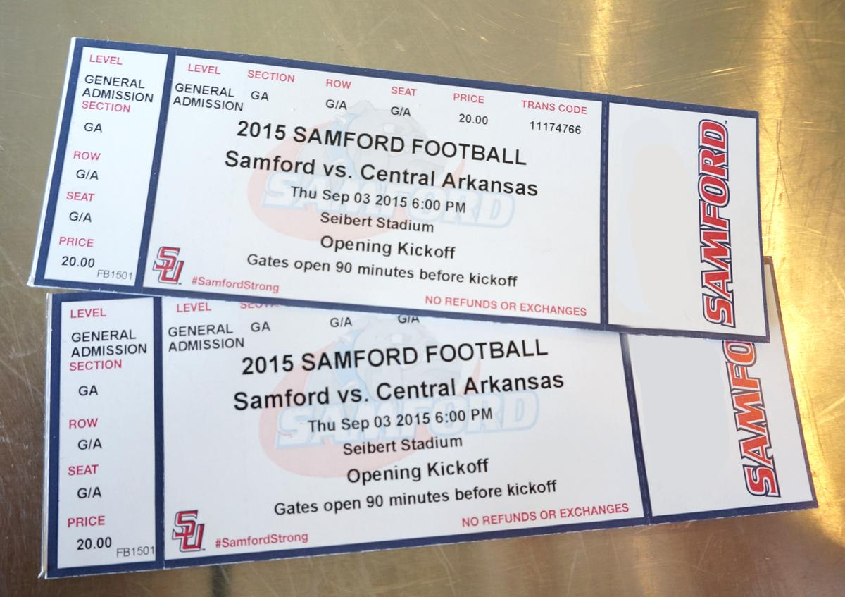 Delicious treats and FREE TICKETS to the Samford football game this Thurs! 1st to Make a purchase and claim them wins http://t.co/vNTgk4Ur4V