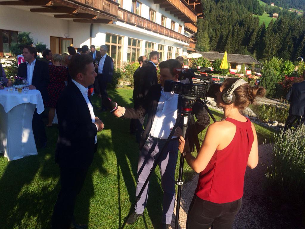 Michael Kofler On Twitter National Tv Meets Local Tv At Wien24
