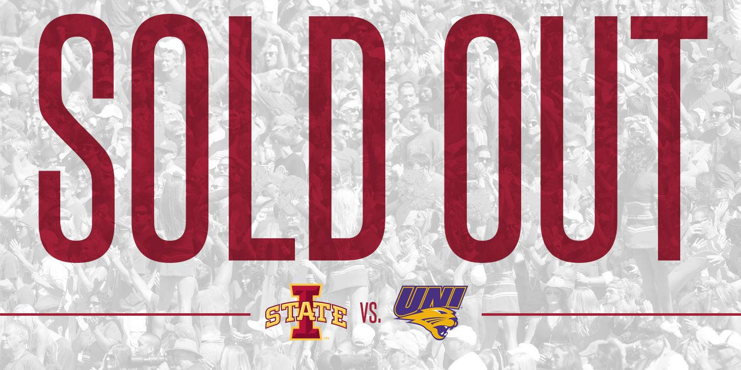 """Iowa State Athletics on Twitter: """"It's another SELLOUT! We ..."""