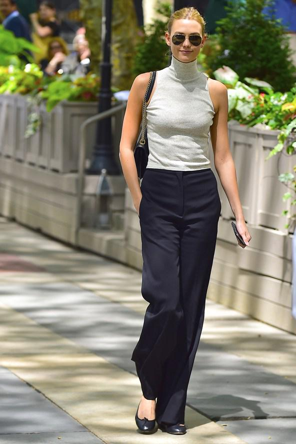 The black trouser is a perennial fashion classic - and @karliekloss is our favourite new muse http://t.co/8eqAYeW2UL http://t.co/irpNlXZYUb