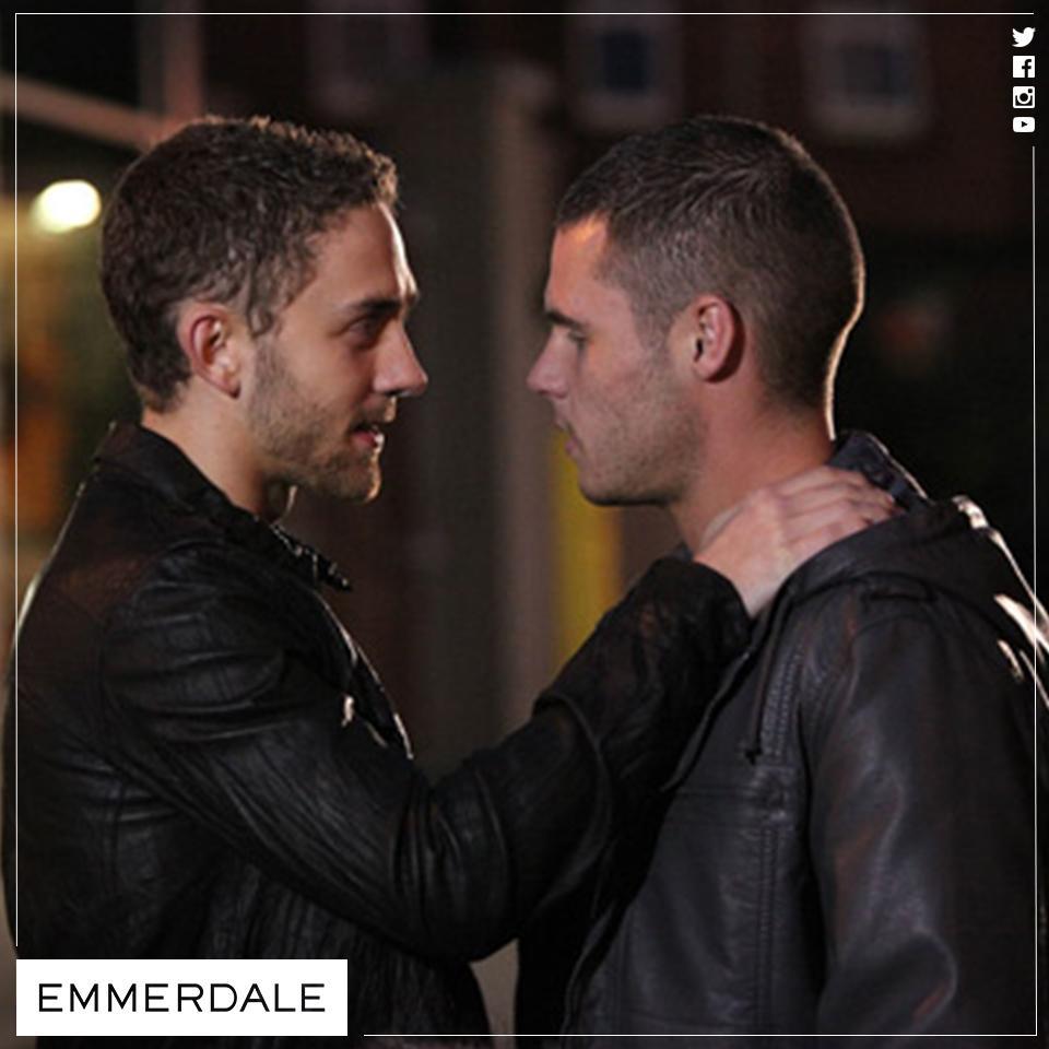 Emmerdale Aaron And Jackson