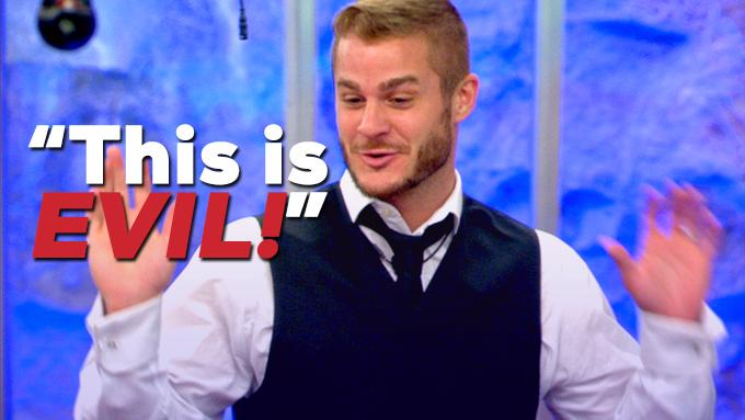 The royal family are enjoying their meal, but the servants are planning a revolution... http://t.co/DkBRck3dF0 #CBB http://t.co/BtWBPTYlqF