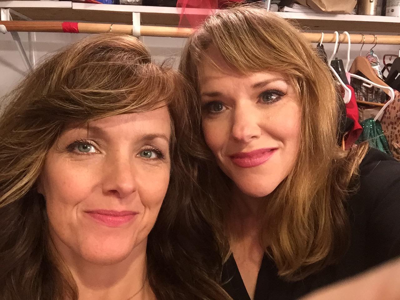 Queens!!!! https://t.co/SwGFEWQ54o Musical theater royalty!!! #AliceRipley #EmilySkinner #WCW #WomancrushWednesday http://t.co/npiHwxdJ4y