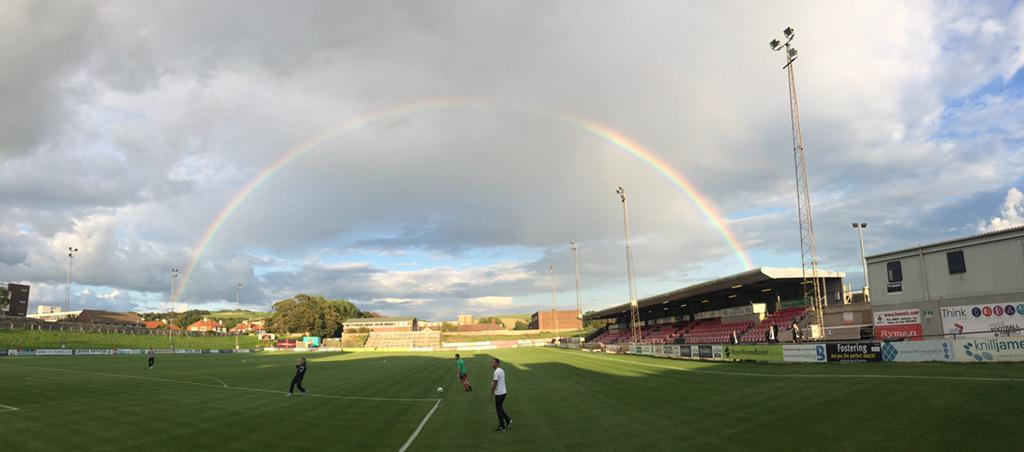 How about this for a pre-match photo? @GuernseyFC v @phoenixsport82 at The Dripping Pan, Lewes tonight http://t.co/7gjQ6p3s2n
