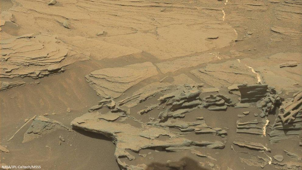 Mars Curiosity Rover finds floating spoon on Red Planet…