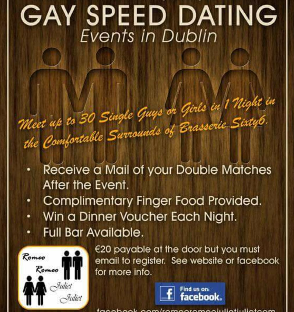 Gay Speed Dating In Dublin - Gaire