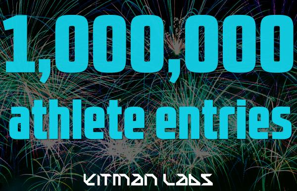 Today Kitman logged its 1 millionth athlete-reported data entry. Will you be part of the next million? #sportsscience