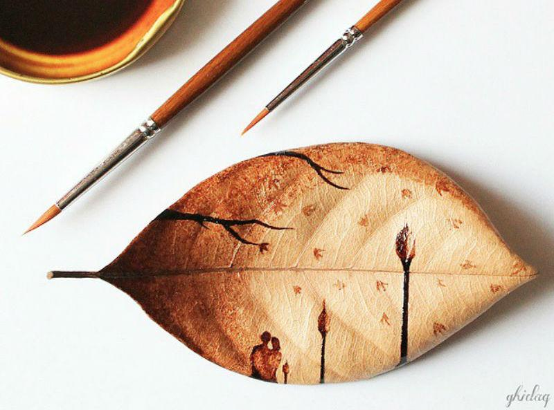 RT @Creative_Boom: Incredible artworks created on leaves with the leftover morning coffee http://t.co/qoxkqK0vpu http://t.co/HAlbkr6NtX