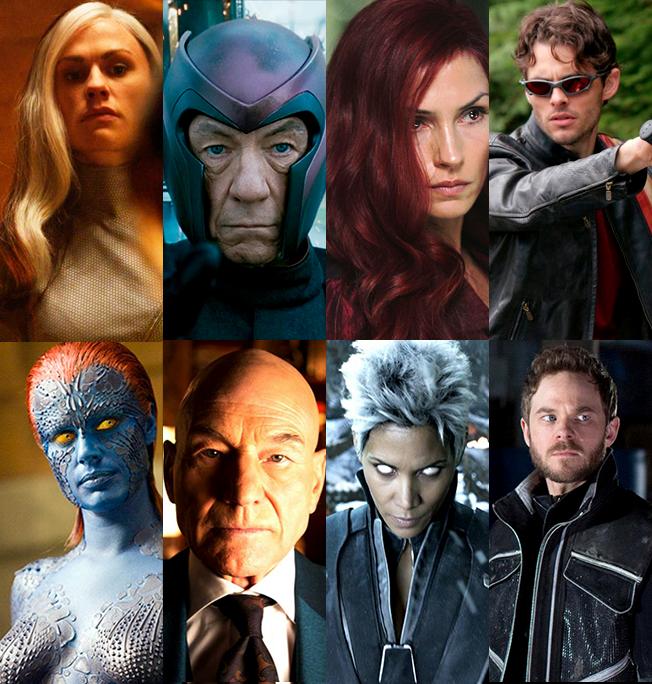 X Men Cast X-MEN ORIGINAL ...