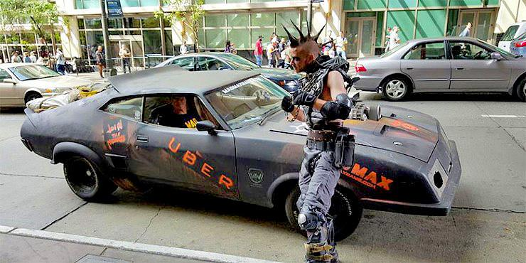 AMAZING!!! Uber Brings Mad Max's Post-Apocalyptic Jeeps And Muscle Cars To The Streets Of … http://t.co/pUUAfVBE1Y http://t.co/zAu3sSRzRV