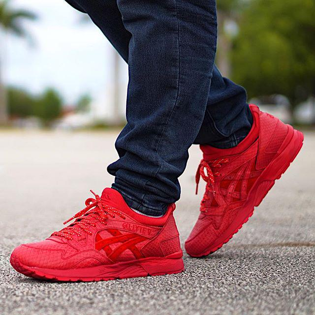 mamba lyte asics gel red 5