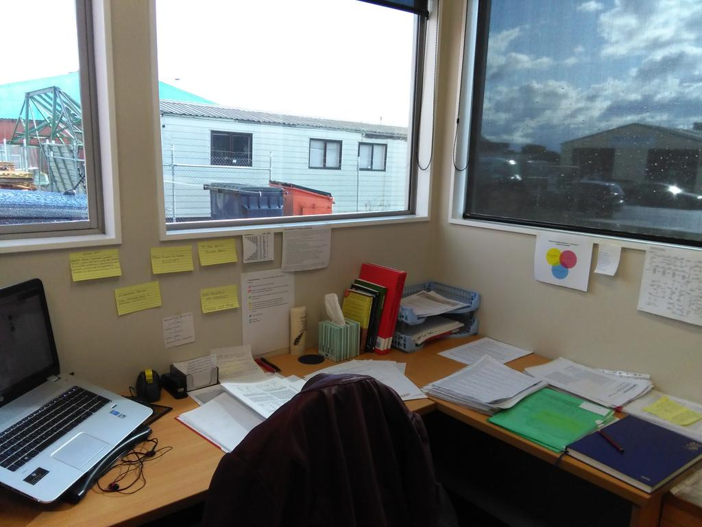 Not very medieval doing PhD in back corner of industrial estate (except some of the tech in the lab!) #survivephd15 http://t.co/hNGY6878Xc