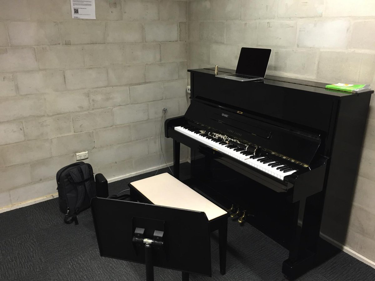 #survivephd15 And sometimes I practice clarinet and piano at ANU School of Music http://t.co/bfJ0vwHLa1