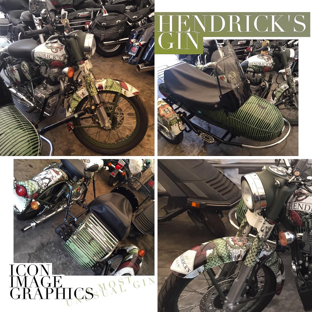 Icon Image Graphics On Twitter Quot Hendrick S Gin Motorcycle