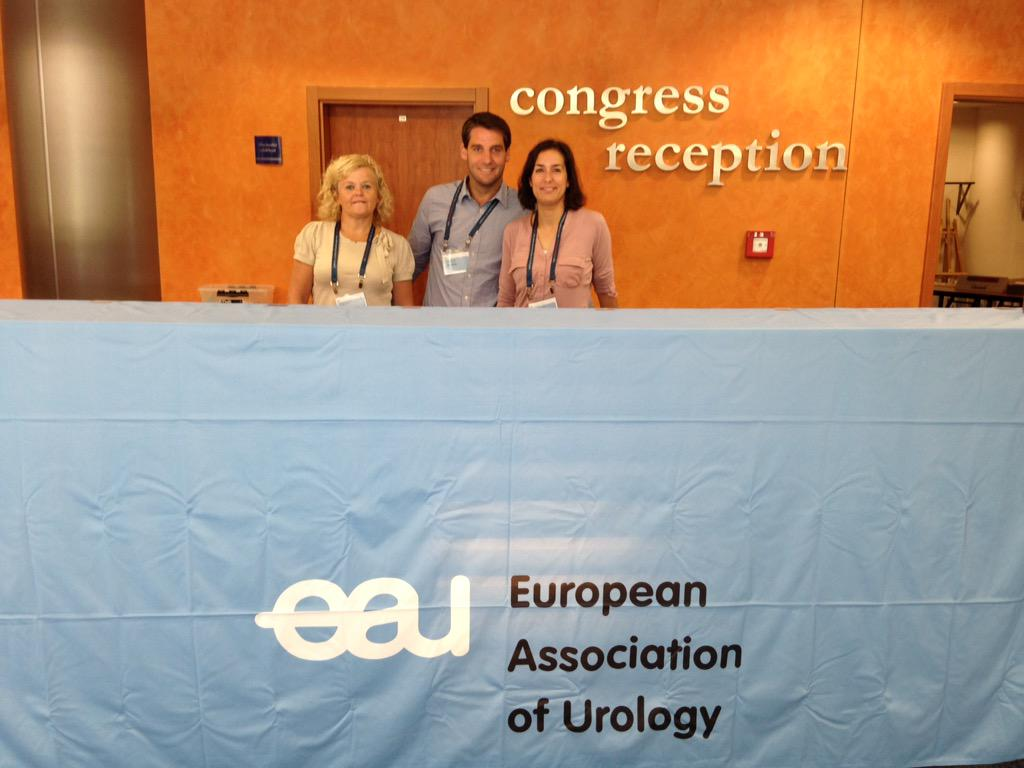 RT @Uroweb: EUREP Team ready to welcome you! See you soon #eurep15 http://t.co/7n6jK1olxE
