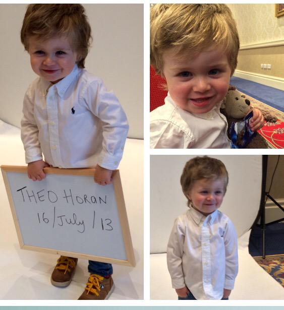 Out cutest little model called back into us today for new pics .... Everyone fell in love with @TheoHOfficial_