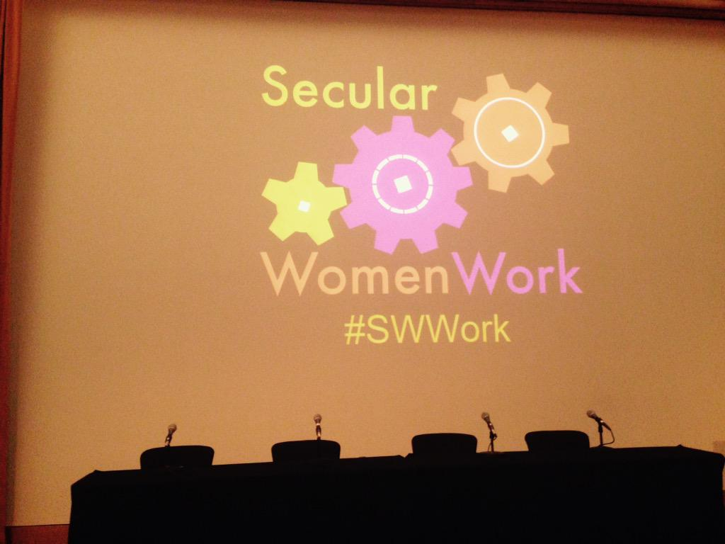Another fabulous day at the Secular Women Work Conference. Thank you @SecWomenWork http://t.co/epSS4c1fZO