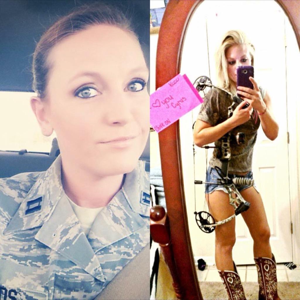 Sexy us military women