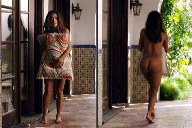 Salma hayek sexy butt and pussy