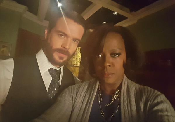 how to get away abc on twitter what are these two up to htgawm http t co xia72tuqit twitter