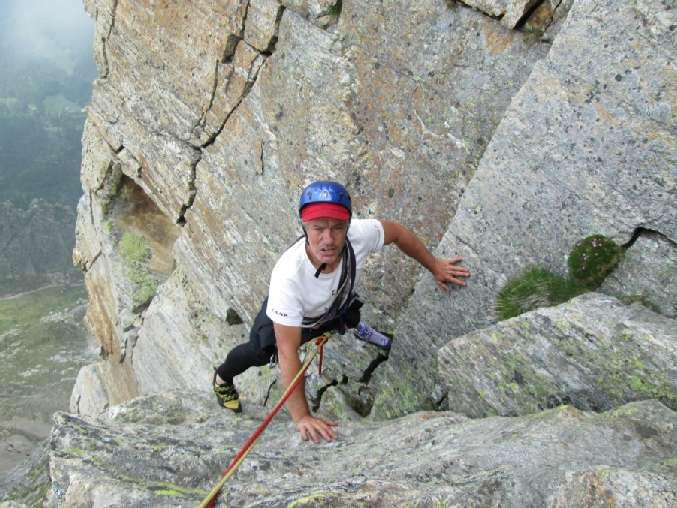 """Addio all'alpinista Oliviero Bellinzani, VIDEO YouTube """"L'uomo con le Ali"""""""