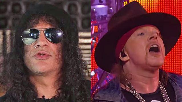 SLASH Confirms He And AXL ROSE Are Friends Again: 'It Was Probably Way Overdue' http://t.co/93JqhjS0v7 http://t.co/e26IAYkmrR