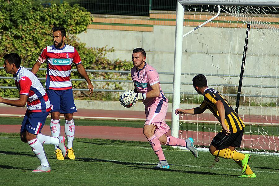 Dimitrievski gathers the ball