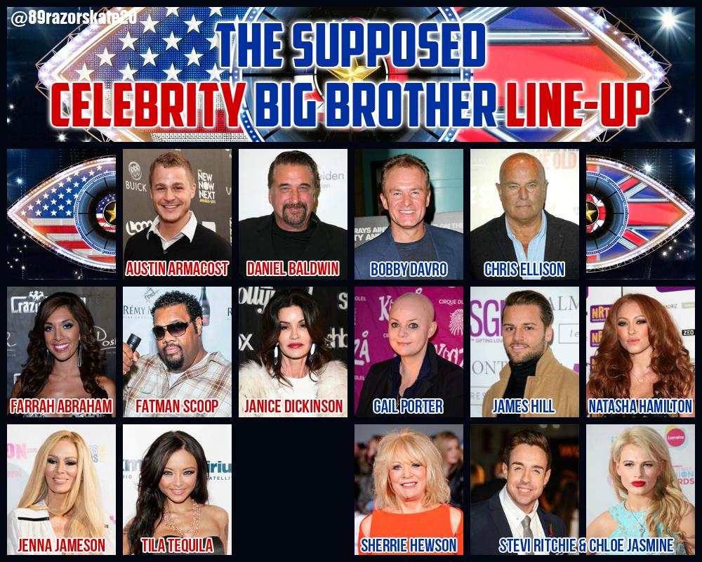Celebrity Big Brother 16 UK / UK vs USA