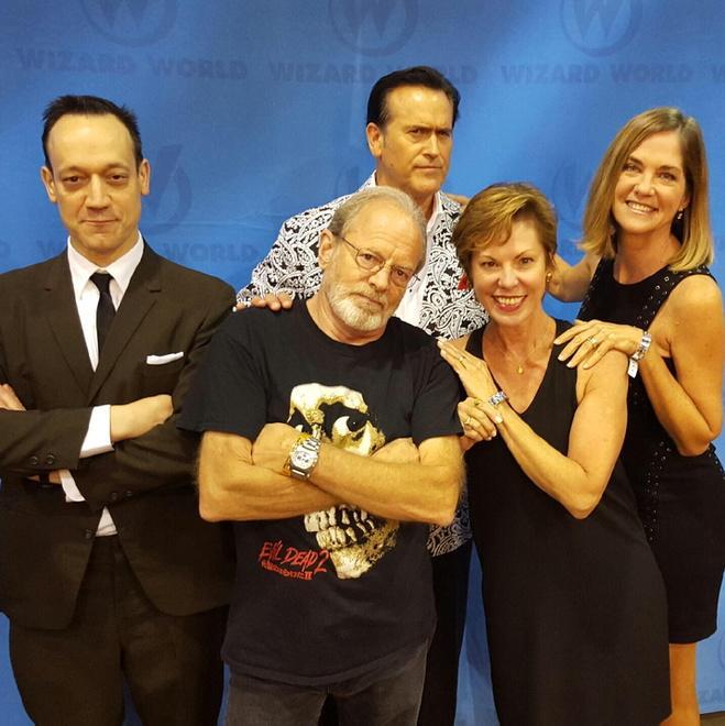 Evil Dead 2 Cast Reunion Photo