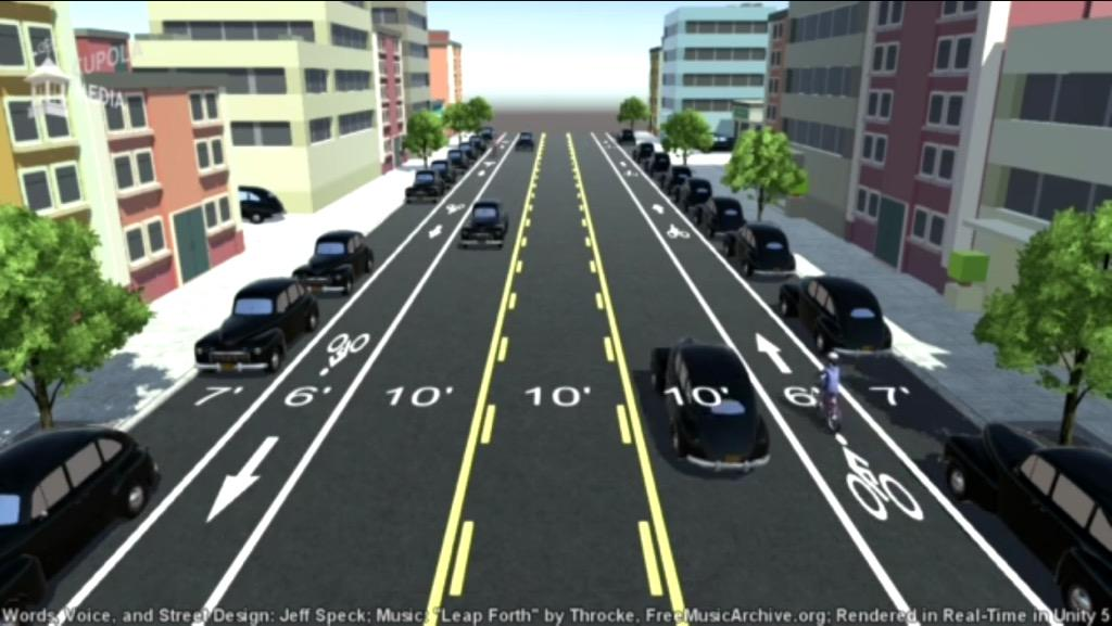 Watch This Wonderfully Clear Explanation of How Road Diets Work #GrandAve | http://t.co/tLvPVoONmr http://t.co/l5SoTrigAe